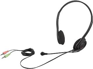 バッファロー 両耳ネックバンド式ヘッドセット ブラック BSHSH14BK