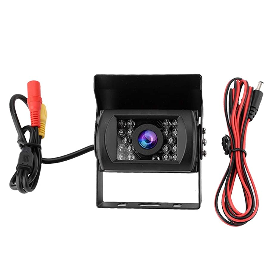 Car Camera Recorder,Infrared Night Vision Waterproof CCD HD Rear View Reversing Camera with 18 LED Lights/Weatherproof/Night Vision