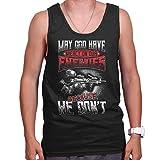 99 God Mercy Enemies Military War Veteran Tank Top Camisetas y Tops(X-Large)