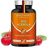 [page_title]-Acerola BIO | Natürliches Vitamin C Hochdosiert 1000mg | Tablette 100% Reines Frucht-Extrakt | Vegane Lutschtabletten für Kinder Immunsystem stärken mit Acerola Kirsche Cherry Geschmack