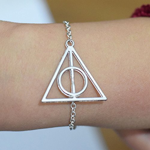 xiaoaosn Heiligtümer des Todes Armband Harry Potter Heiligtümer des Todes Harry Potter Armband, Einzigartige Armband, Geschenk Zum Geburtstag, Geschenk, Armband