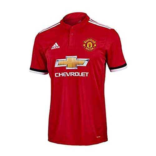 53b541010 Adidas Manchester United Home Soccer Stadium Jersey 2017-18