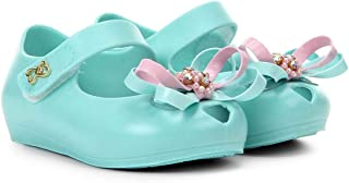 6dcc24a1d Sapatilha Infantil World Colors Velcro Aplique Laço Feminina