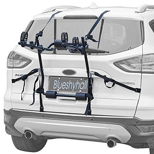 Bastidor montado en el maletero de 2 bicicletas, bastidor para portabicicletas -...