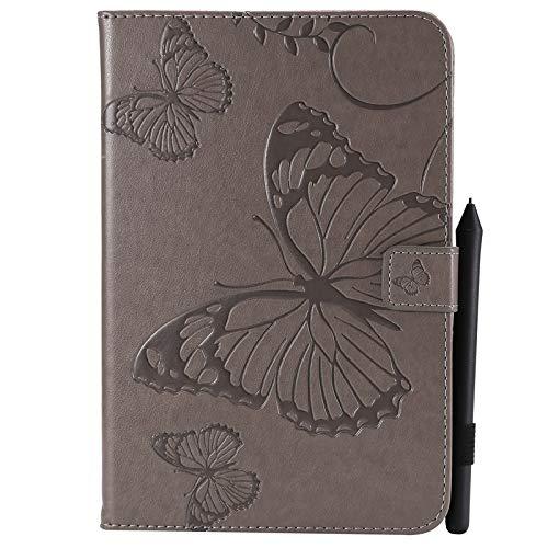 weichunya Cubierta de la Caja de la Tableta de la Tableta del Soporte de la Cartera de la Cartera de la PU de la Flor de la Flor de la Flor para Samsung Galaxy Tab A 8.0 Inch SM-T350 (versión 2015)