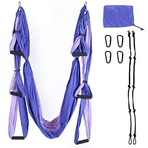 Why Choose Aerial Yoga Swing Set Yoga Swing Hammock Inversion Tool Antigravity Ceiling Hanging Yoga ...