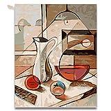 Pintura Al Óleo Abstracta Cuadro De Comedor Cuadros Por Números Bodegón Dibujar Sobre Lienzo Números Pintura En Colores Por Números 01225