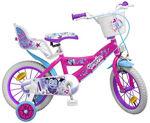 Toimsa - Bicicleta de 12 Pulgadas Modelo Vampirina 3-5 años 913, Multicolor