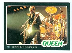 John Deacon trading card Queen 1979 Donruss Rockstars #16