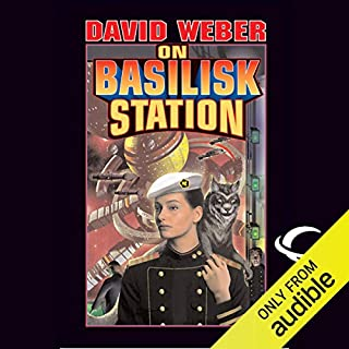 On Basilisk Station audiobook cover art