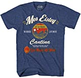 STAR WARS Mos Eisley Cantina Tatooine Men's Adult Graphic Tee T-Shirt (Navy Heather, XX-Large)