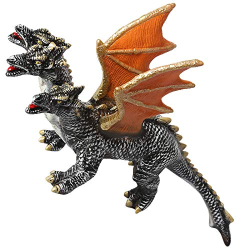 Dinosaur Godzilla Toys Action Figure Monsters Movie Series Vinyl Three Headed Dragon Figures Dino Model for Kids Boys Gift