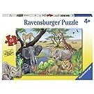Ravensburger 09600 Safari Animals Jigsaw Puzzles (60 Piece)