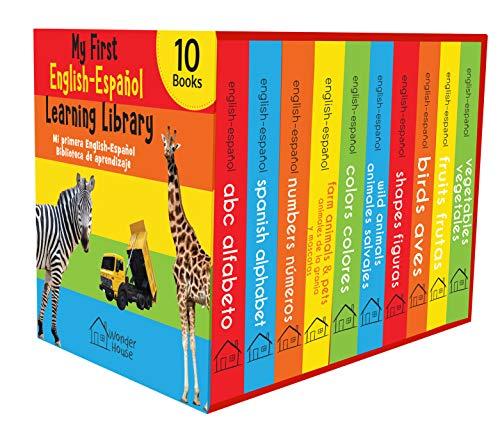 My First English - Español Learning Library (Mi Primea English - Español Learning Library) : Boxset of 10 English - Spanish Board Books