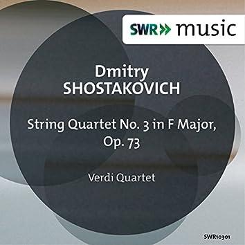 Shostakovich: String Quartet No. 3 in F Major, Op. 73