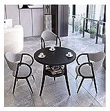 Cocina de mesa de ocio mesa de comedor para cocina o decoración del hotel, silla simple de mesa combinación de oficina recepción negociación mesa balcón sala de estar cocina mesa de comedor mesa moder