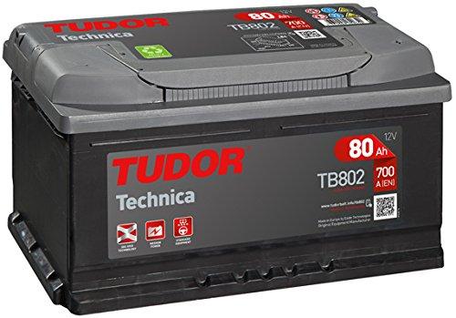 TUDOR TB802 Batería automoción