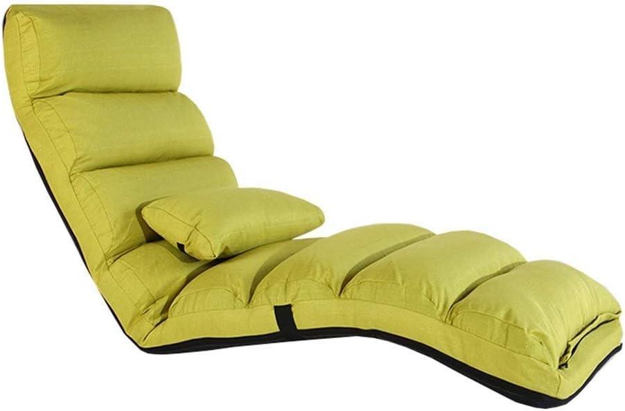 RYYAIYL Folding Lazy Sofa Multi-Speed Chair Adjustment Bargain sale L Los Angeles Mall