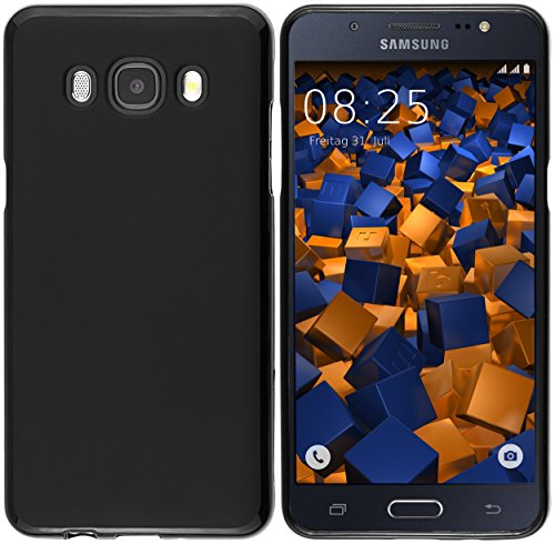 mumbi Funda Compatible con Samsung Galaxy J5 2016 Caja del teléfono móvil, Negro