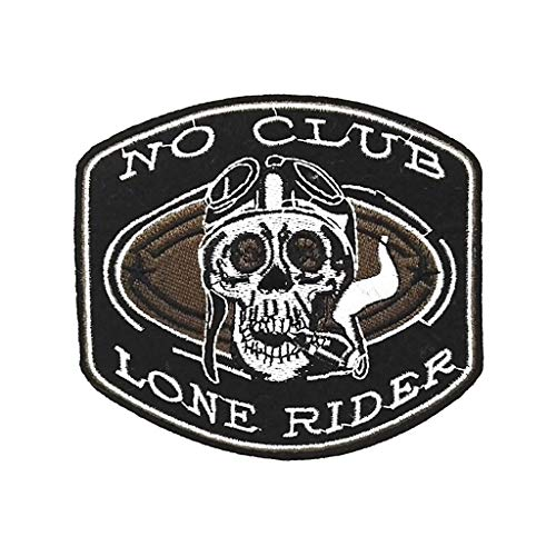 KUSTOM FACTORY Parche No Club Lone Rider