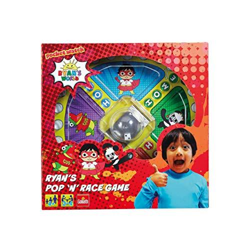 Goliath Games GL60066 Ryans World Pop n Race, klassisches Schnell-Action-Spiel für Kinder ab 5 Jahren, Multi