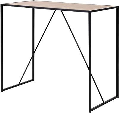 Selsey Table de Bar, Couleur chêne, 120 x 105 x 60