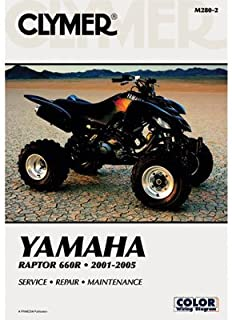 Best yamaha raptor 660 repair manual Reviews