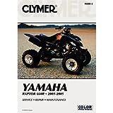 Clymer Repair Manuals for Yamaha RAPTOR 660...