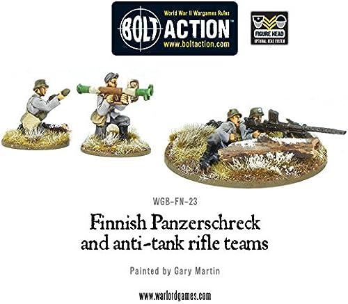 Finnish Panzerschreck & Anti - Tank Rifle Teams