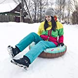 Balight Ski Pad Panneau Gonflable Durable Pneu Snowboard Luges Manche...