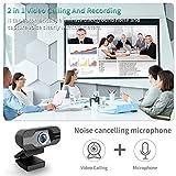 Zoom IMG-1 tedgem webcam 1080p pc con