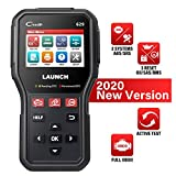 LAUNCH OBD2 Scanner CR629 Code Reader with Active Tests, Oil/SAS/BMS Reset Scan Tool. ABS/SRS, Full OBD2 Functions Diagnostic Tool Turn Off Check Engine Light for DIYers, Lifetime Update