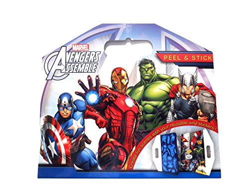 Anker - Ankavpas - Autocollant - Décolle Et Recolle avec Les Avengers