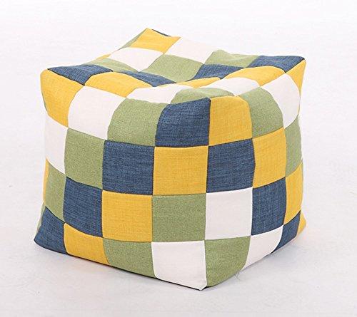 Fauteuil de loisirs en couleur à la mode tissu paresseux canapé confortable créatif