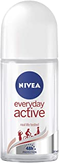 NIVEA Everyday Active Roll On Anti-Perspirant Deodorant, 50ml