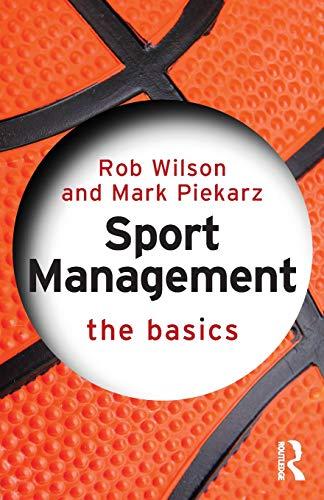 Price comparison product image Sport Management The Basics