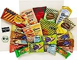 Veganz Süßigkeiten Box mit 18 Sorten - Schokolade - Kekse - Gummibärchen - 2100 GRAMM - Vegan...