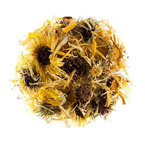 Calendula Ringelblume biologische Tee – hervorragend für Desserts - Korbblütler Gewurz - Ringel Blume - ringelblumenblüten - ringelblumentee - Marigold 100g