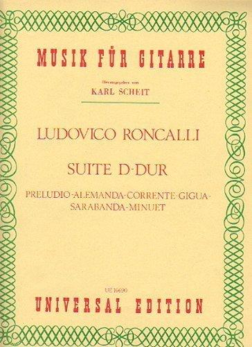 Suite in D-Dur für Gitarre