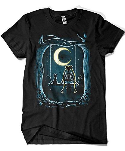 4707-Camiseta Premium, Guardian Under The Moon (DDjvigo)