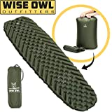 Best Sleeping Pads - Wise Owl Outfitters Camping Pad - Premium Inflatable Review