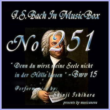 Denn du wirst meine Seele nicht in der Holle lassen, BWV 15