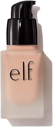 e.l.f. Flawless Finish Foundation, Semi-Matte, Long-Lasting Liquid Makeup, SPF 15, Porcelain, 0.68 Fluid Ounces