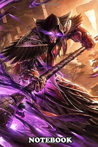 Notebook: Medivh , Journal for Writing, College Ruled Size 6