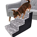 Hengjierun Peldaños para Mascotas Escaleras para Perros Y Gatos Escaleras para Perros Escaleras para Mascotas Escaleras para Mascotas Escalera para Sofá Cama Escalera para Mascotas Escalera Interior