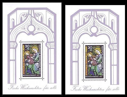 Goldhahn Berlin Block 6 postfrisch  mit ca. 5mm überh  Briefürken für Sammler