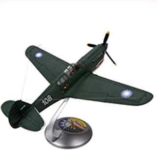 1/32-scale World War II Marine Corps US P40 P-40 Flying Tiger Aircraft Model Adult Children's Toys Exhibition Exhibition Collection.