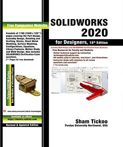 SOLIDWORKS 2020 for Designers, 18th Edition (English Edition)
