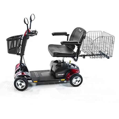 Best Prices! Pride Mobility Go-Go Sport 4-wheel Travel Pride Electric Scooter+ Rear Basket