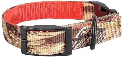 "OmniPet Reversible Nylon Dog Collar, 27"", Mossy Oak Blades Camouflage"